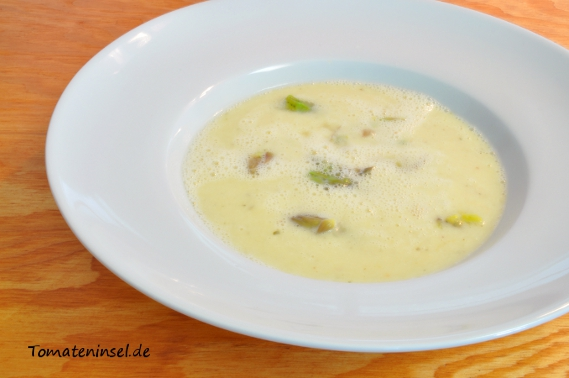 Spargel-Creme-Suppe